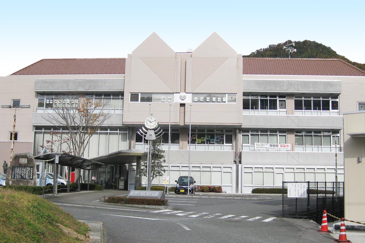 東広島市立河内こども図書館外観写真
