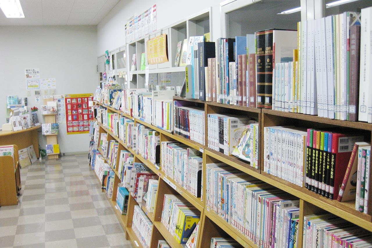東広島市立豊栄図書館館内写真
